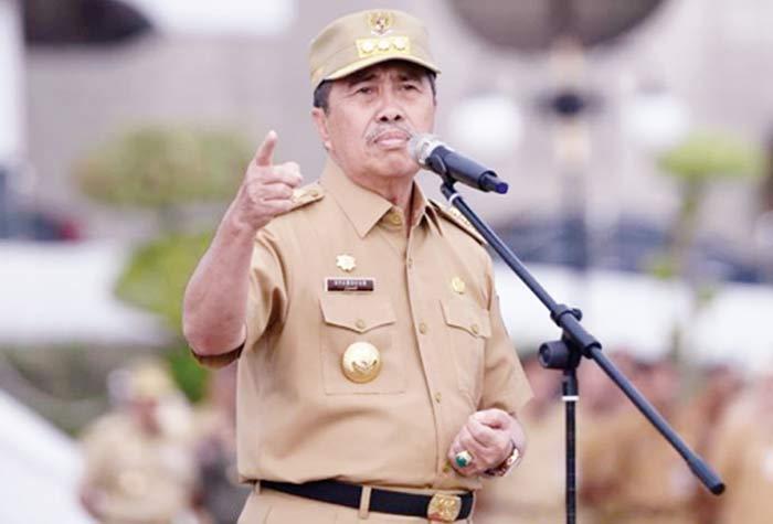 Gubernur Tegur OPD Belum Umumkan RUP