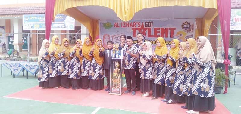 SDIT Al Izhar School Raih Juara Umum AGT 3