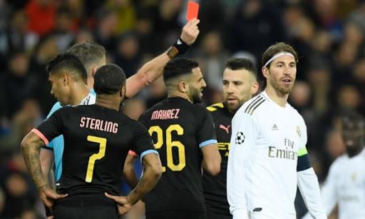 Kartu Merah Lagi, Sergio Ramos Samai Rekor Liga Champions