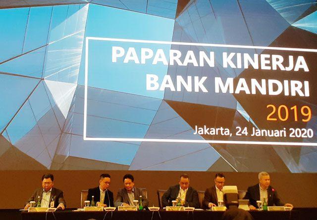 2019, Bank Mandiri Raih Laba Bersih Rp27,5 triliun