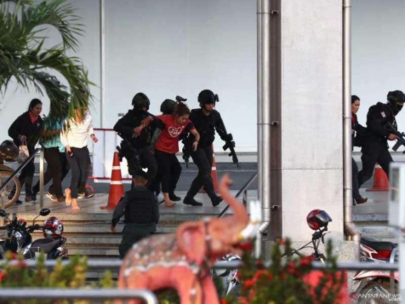 Penembakan Brutal di Thailand Tewaskan 26 Orang