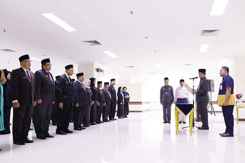 36 Pejabat Pemko Kembali Dilantik