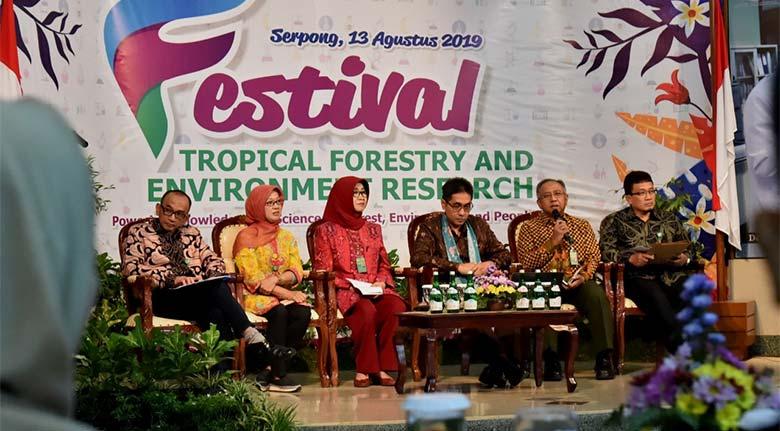 Festival Riset Hutan Tropis dan Lingkungan Hidup, Upaya KLHK Sebarluaskan Inovasi Hasil Litbang