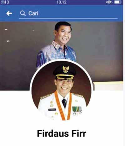 FB Wako Digandakan, Pelaku Minta Uang