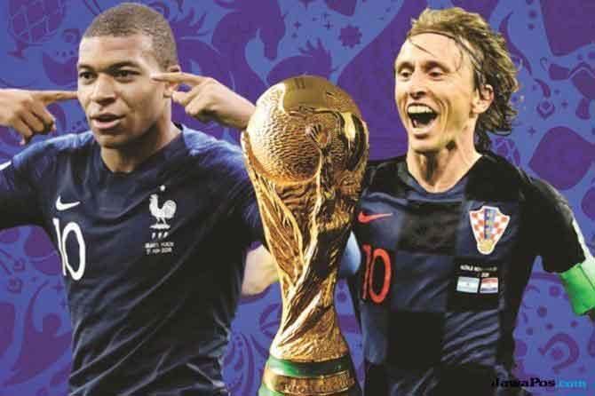 Duel Kante-Pogba Versus Modric-Rakitic Menjadi Penentu