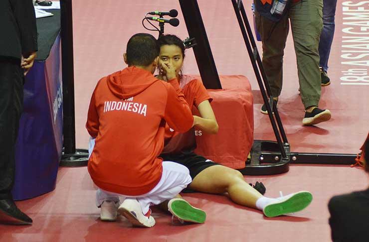 Meski Dilarikan ke Rumah Sakit, Floren Bawa Indonesia ke Semifinal