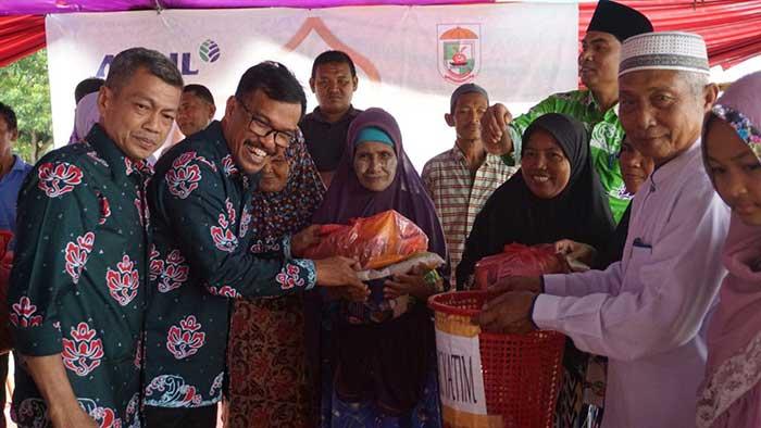 Salurkan 3.150 Paket Sembako, Santuni 3.245 Anak Yatim