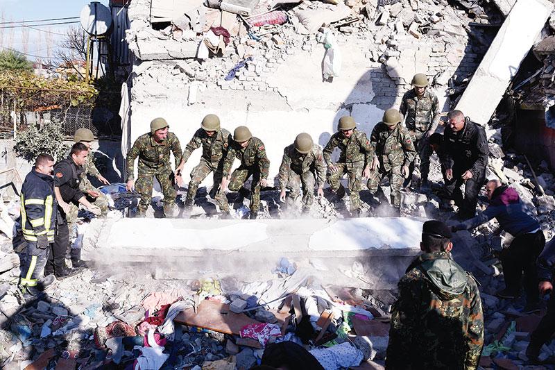 Gempa di Albania, 13 Orang Tewas
