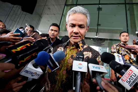 Ganjar Pranowo Mangkir dari Panggilan KPK karena Sibuk Kampanye