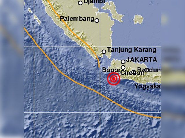 Gempa 7,4 SR Guncang Jakarta