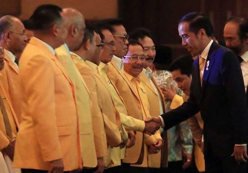 Golkar Pecah, Konsolidasi Politik Jokowi Sia-Sia