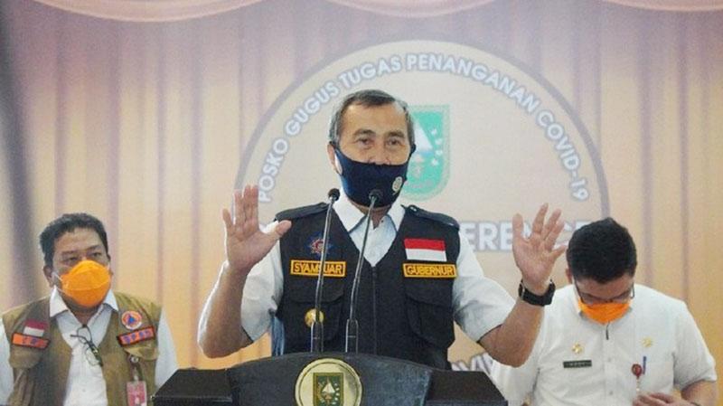 Tim Satgas Pusat Akan Datang ke Riau Bantu Tangani Pandemi Corona