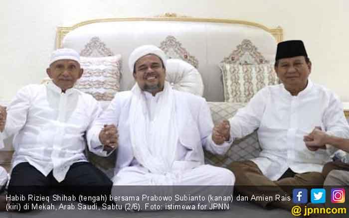 Foto Pertemuan Rizieq-Amien-Prabowo Dihapus Intagram, Fadli Zon Sarankan Ini