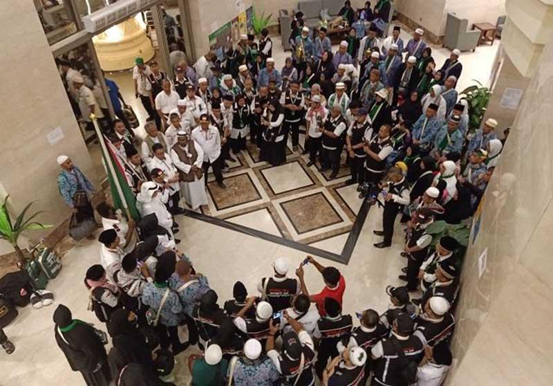 498 Jamaah Haji Asal Pekanbaru Tiba dengan Selamat