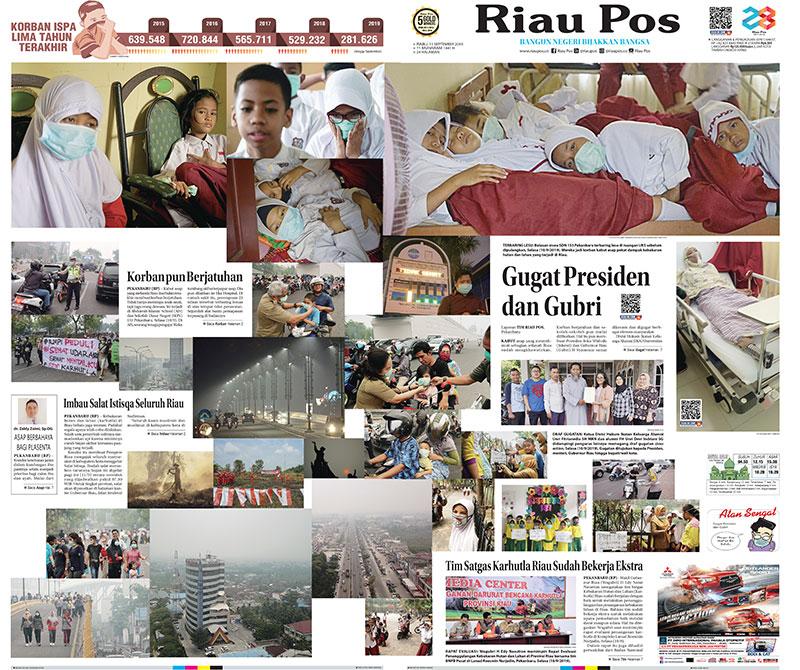 Setelah 4 Tahun, Warga Riau Kembali Surati PBB Terkait Asap