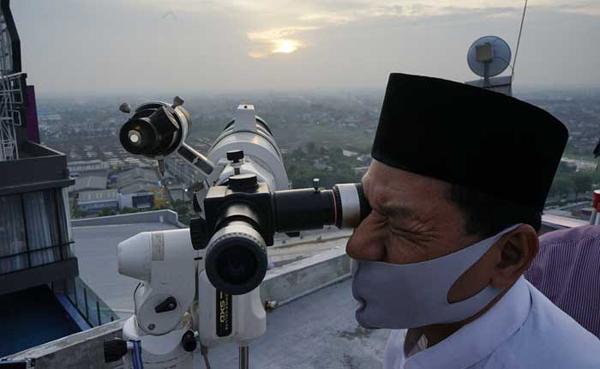Hilal Tak Terlihat di Pekanbaru, Idulfitri Jatuh pada 24 Mei