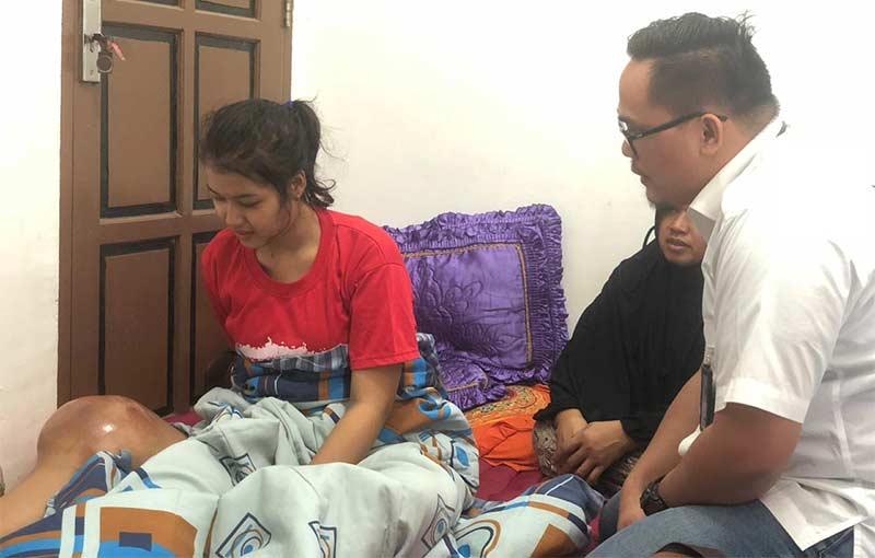 Simpati untuk Riska Berdatangan, PT HK Tawarkan Berobat ke Jakarta