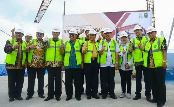 Hutama Karya Pastikan Pembangunan Gedung Baru Kejati Riau Tepat Waktu
