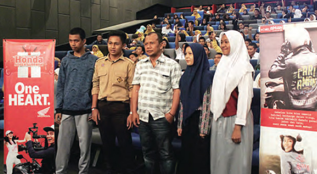 Riau Pos Honda Surprise Ajak Milenial Nobar Avengers Endgame