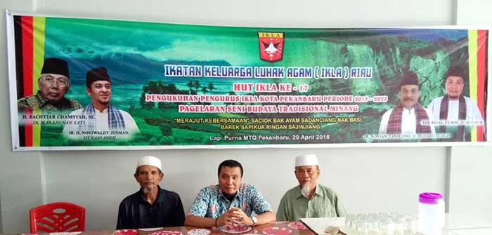 """Minggu, Warga Agam """"Baralek Gadang"""" HUT IKLA Riau ke-17"""