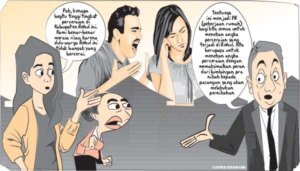 Tekan Angka Perceraian dengan Pembinaan Catin
