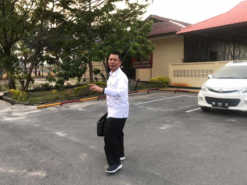 Kepala Dinas PUPR Pekanbaru Diperiksa KPK