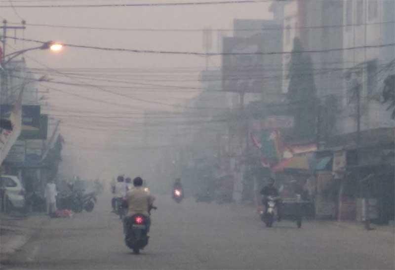 Asap Pekat, Siswa PAUD dan SD di Tembilahan Kembali Diliburkan