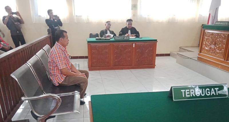 Anggota Bawaslu Inhu Divonis Empat Bulan Penjara
