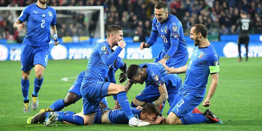 Dua Debutan Ini Menangkan Italia Atas Finlandia