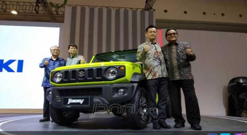 Indonesia BerpotensiMemproduksi Lokal Suzuki Jimny