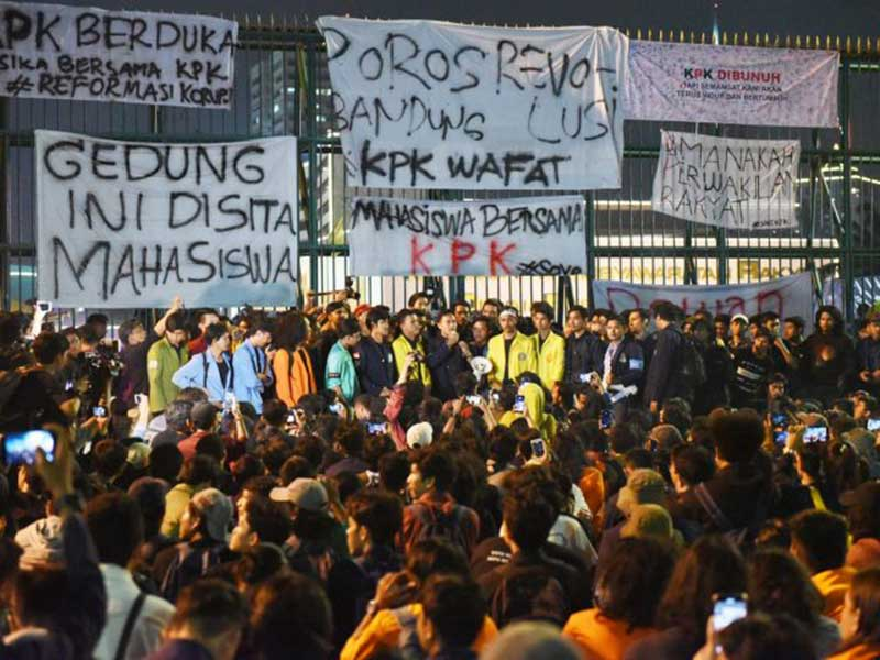 ICW: Komitmen Pemberantasan Korupsi Jokowi Dipertanyakan