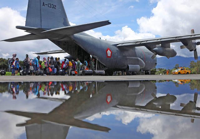 Sudah 16.500 Pengungsi yang Tinggalkan Wamena