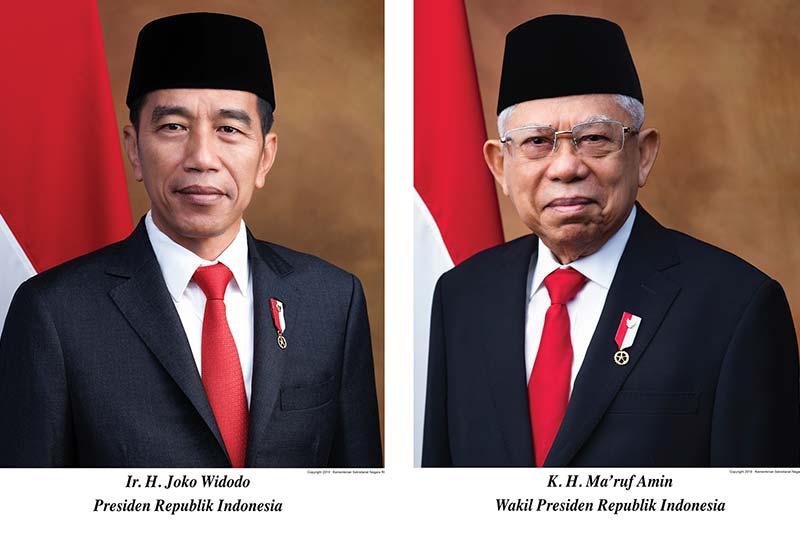 Jokowi- Ma'ruf Ucapkan Sumpah, Resmi Jabat Presiden dan Wapres RI 2019-2024