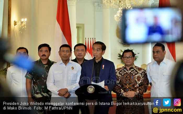 Pascatragedi Mako Brimob, Jokowi Minta Polri Lakukan Evalusasi Total