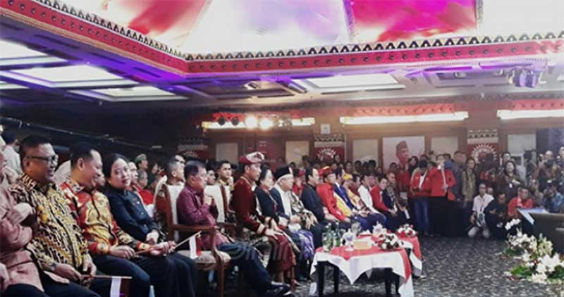 Jokowi Pastikan PDIP Mendapat Jatah Kursi Paling Banyak di Kabinet