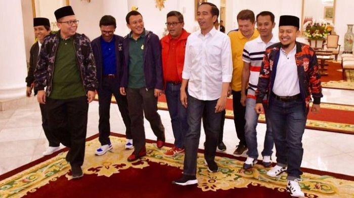 Jokowi Gelar Pertemuan dengan 5 Partai Koalisi