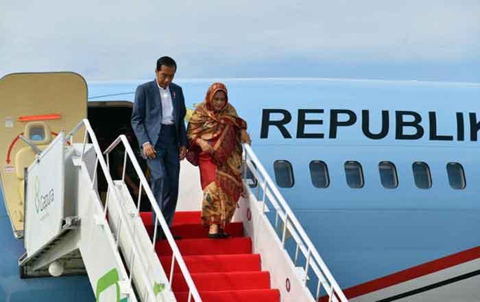 Tagar #2019GantiPresiden Banjiri Unggahan Foto Jokowi oleh Gubernur Sumbar
