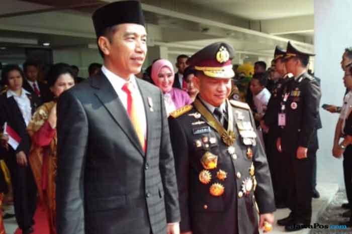 Simak! Soal Ancaman Terorisme, Begini Pesan Jokowi kepada Polri