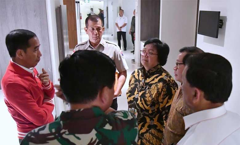 Di Pekanbaru, Menteri LHK Ratas dengan Presiden Bahas Efektivitas Penanganan Karhutla