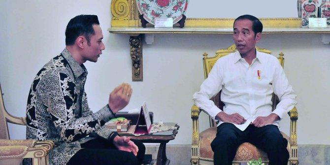 AHY Siap Jika Ditunjuk Jadi Menteri Jokowi