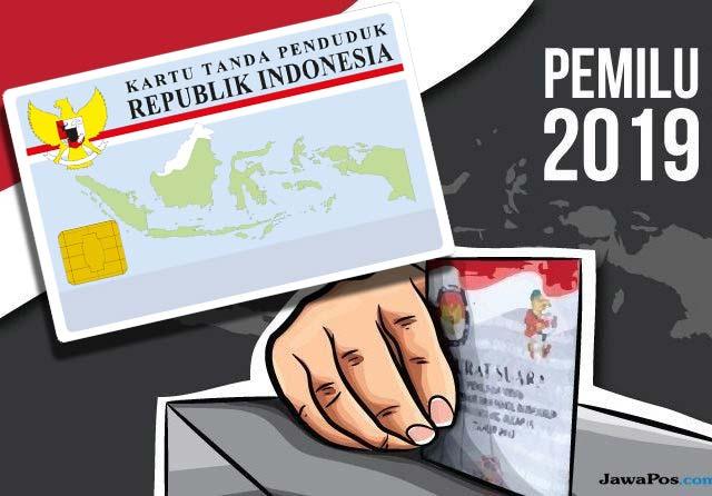 Tak Terdaftar di DPT Pemilu, Cukup Bawa e-KTP