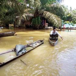 Banjir di Gunung Sahilan Meluas