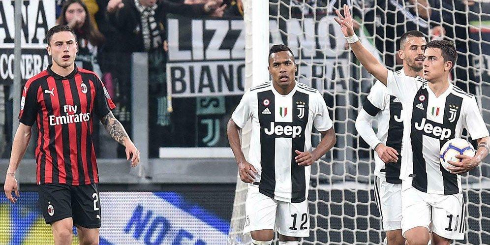 Tak Mau Kendor, Juventus Gasak Milan