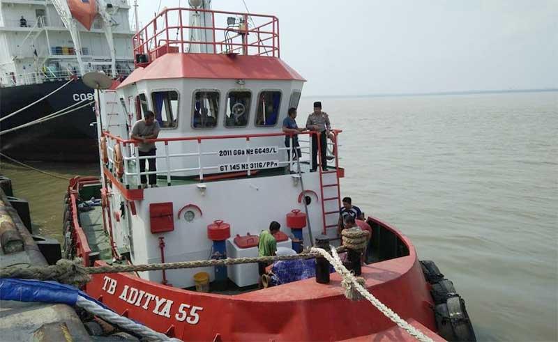 Empat Tewas Dalam Lambung Ponton di Pelabuhan KITB