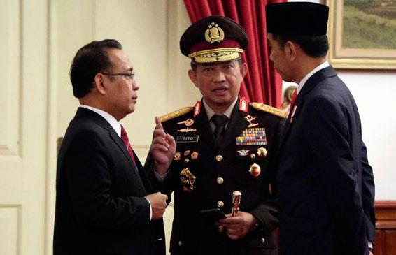 Kapolri Tito Ikut Dipanggil Jokowi