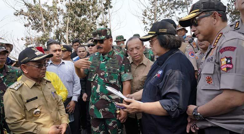 Atasi Karhutla Riau, Menteri LHK Dorong Penegakan Hukum di Perketat