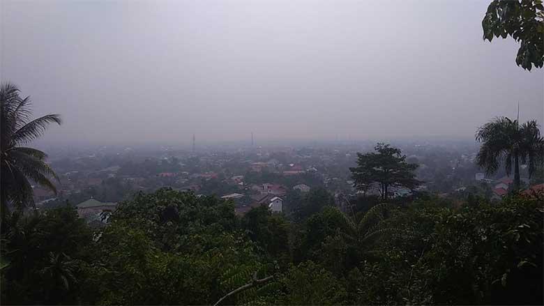 Di Kampar, Tambang dan Siak Hulu Terparah Kabut Asap