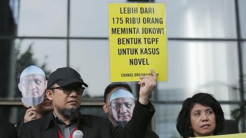 Novel Baswedan Tak Yakin Rahmat Kadir dan Ronny Bugis Siram Wajahnya