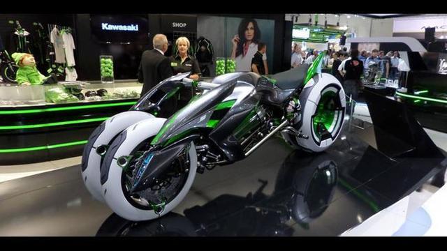 Kawasaki Siapkan Motor Listrik Bergaya Sport