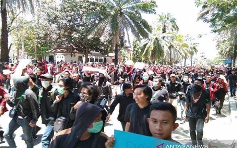 Ombudsman Kecam Tindakan Brutal Polisi saat Demonstrasi Mahasiwa Sultra